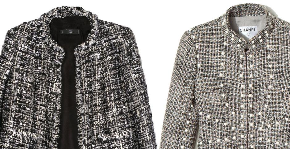 шанель куртки из твида