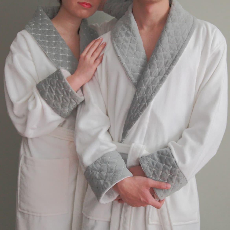 велюровые халаты