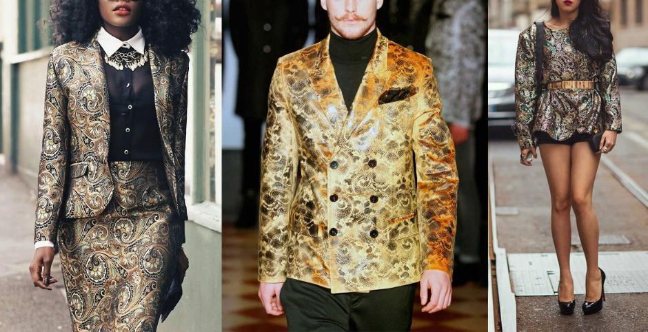 варианты костюмов из ткани, пиджак, топ