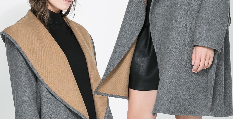 качественное пальто из драпа